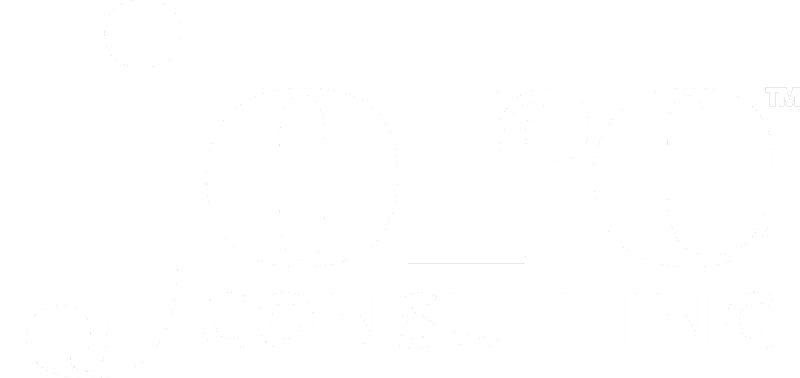 JORE Consulting logo - white